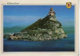 EL PEÑON DESDE EL ESTRECHO DE GIBRALTAR    OHL - Gibraltar