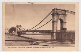 LORIENT - N° 497 - LE PONT DE KERENTRECH AVEC PERSONNAGE - Lorient