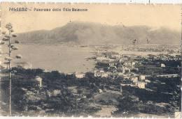 Palermo Panorama Della Villa Stamped - Palermo