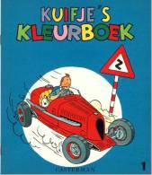 Kuifje/Tintin/Hergé: Kuifje´s Kleurboek 1 (1961-1968): Zeer Zeldzaam: Perfecte Staat ! - Kuifje Specials