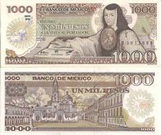 Mexico P-85, 1000 Pesos, Juana De Asbaje / Santo Domingo Plaza - Mexico