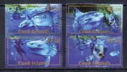 Cook Island,  Samenhangend, Walvissen,   Gestempeld, Zie Scan - Cook
