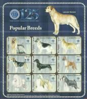 sav0908sh St. Vincent 2009 125 year American Kennel Club Dog s/s