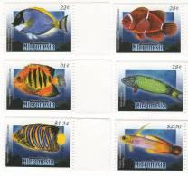 mic0918c0 Micronesia 2009 Fish 6v