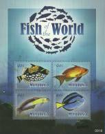 mic0918sh Micronesia 2009 Fish S/S