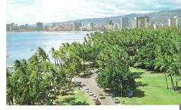 Kapiolani Park And Waikiki As Seen From Diamond Head, Hawaii - Honolulu