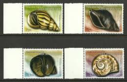 mic0916co Micronesia 2009 Shells 4v