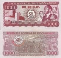 Mozambique P-128, 1000 Metricals,  Mining, Rice Planting $8+CV - Mozambique