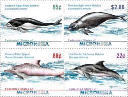mic0915c0 Micronesia 2009 Dolphin 4v