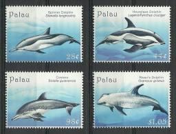pal0915c0 Palau 2009 Dolphin 4v