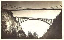 74 - PONT DE LA CAILLE - Haute Savoie - Le Viaduc De La Caille En Construction - Autres Communes