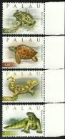 pal0926co Palau 2009 Turtles Frog 4v
