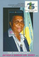 ant0613ss Antigua Barbuda 2006 75th Anniversary of Girl Guiding s/s Fruit