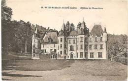 42 Saint-Romain-d´Urfé  . Château Des Gennetines - Otros Municipios