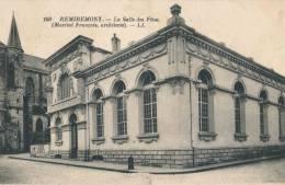 88.Remiremont La Salle Des Fetes Rare Cliche - Remiremont