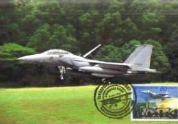 13C : Warplane Jet Fighter Airplane No4 Maximum Card Maxicard MC - Airplanes
