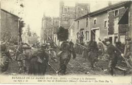REMBERCOURT.  Charge à La Baionnette Dans Les Rues.  Bataille De La Marne 6-13 Sept.1914. - Frankrijk
