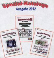 Plattenfehler+Zusammendrucke+Heftchen RICHTER DDR 2012 New 79€ Teil1+2+A Se-tenant Bf Error Special Catalogue Of Germany - Encyclopedias