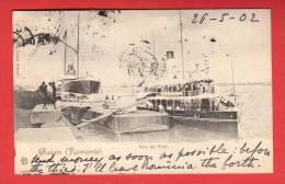 CPA: Roumanie - Galatz - Vue Du Port  (1902) - Roumanie