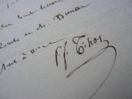 Pierre-François TISSOT (1768-1854) - Académie Française. - AUTOGRAPHE - Autographes