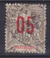 Martinique 1912 Mi. 73 I     05 (C) Auf 15 C Aufdruck Overprinted Kolonial Allegorie - Martinique (1886-1947)