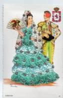 FANTAISIE-17918-------CORDOBA----------carte Brodée - Bestickt