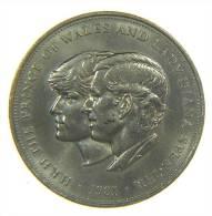 CROWN 1981 - CHARLES AND LADY DIANA - 1971-… : Monete Decimali