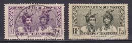 Martinique 1933 Mi. 146, 148 Einheimische Motive Fruen Von Martinique - Martinique (1886-1947)