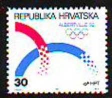 Croatia 1992 Y Sport Olympic Games  Mi No 188 MNH - Kroatië