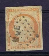 Colonies Francaises: Yv Nr 12 Martinique Cachet MQE, Top Corners Thin, Coins Supérieurs Minces - Ceres