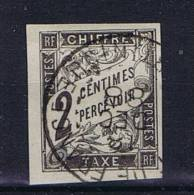 Colonies Francaises: Yv Timbre Tax 2 Martinique