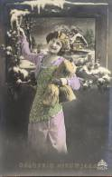 Fantasie Fantaisie Femme Vrouw - Gelukkig Nieuwjaar 1918 - Frauen