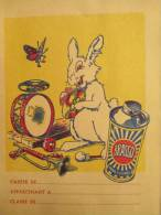 Brasso / Pour Cuivre/Lapin Musicien/années 50    CAH22 - Produits Ménagers