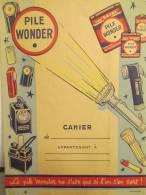 """Wonder/Piles/ """"Ne S'use Que Si L'on S'en Sert !""""/EFGE/Valenciennes/Lalart/années 50    CAH23 - Wash & Clean"""