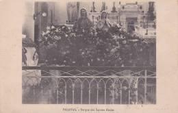 CPA 34  PALAVAS ,Barque Des SAINTES-MARIES.(1917) - Palavas Les Flots