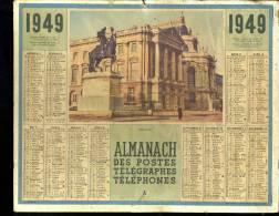 Calendrier 1949 Versailles - Kalenders