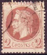 15.12.1862, Frankreich - Napoleon III, Mit Lorbeerkranz, Michel-Nr. 25, Gestempelt, Los 26364 - 1863-1870 Napoléon III. Laure