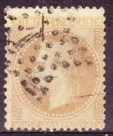 15.11.1867,Frankreich Napoleon III, Mit Lorbeerkranz, Michel-Nr. 27, Gestempelt, Los 26366 - 1863-1870 Napoléon III. Laure