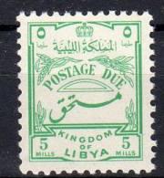 1952,  Série Courante - Timbre Taxe, Y&T No. 49, Neuf **, Lot 36238 - Libië