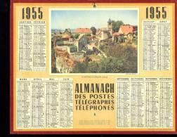 Calendrier 1955 Château-Chalon, Jura - Kalenders