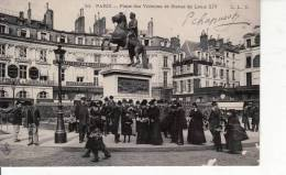 Cpa 33 Paris Place Des Victoires Et Statue De Louis XVI - Francia