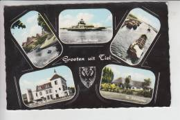 NL - GELDERLAND - TIEL, Mehrbildkarte U.a. Hotel Telkamp - Tiel