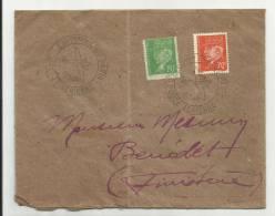 1943 - ENVELOPPE Avec CAHET EXPOSITION PHILATELIQUE LA POSTE AERIENNE - PETAIN - France