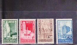 BELGIQUE - YVERT N° 386/389 * - COTE = 15 EUR. - Unused Stamps