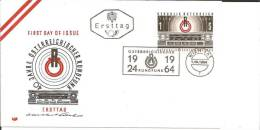 A-RII145 /- ÖSTERREICH -  40 Jahre Rundfunk 1964, FDC - 1945-60 Briefe U. Dokumente