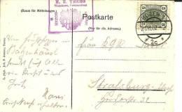 OE002 / Weinhaus Batzenhaeusl, Bozen 1907 - Trentino