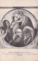 CPA 34 MONTPELLIER , (Musée) Botticelli.  Vierge Et L'enfant. - Montpellier