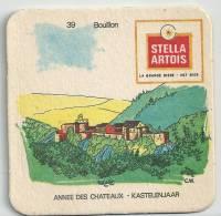 Stella Artois  Kastelenjaar  Bouillon - Sous-bocks