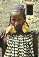 JEUNE FEMME PEUL ANNEAU NASAL EN OR RICHESSE MOBILIERE DE CE PEUPLE D ELEVEURS - Mali
