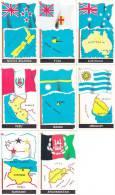 """8 FIGURINE """"LE BANDIERE DEL MONDO"""" -LOTTO 7 - Autres"""